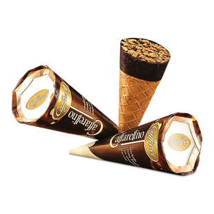Caffarel étcsokoládé kakaós krémmel, ostyával és keksszel 25g