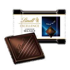 Lindt Excellence mini étcsokoládé tengeri sóval 5,5g