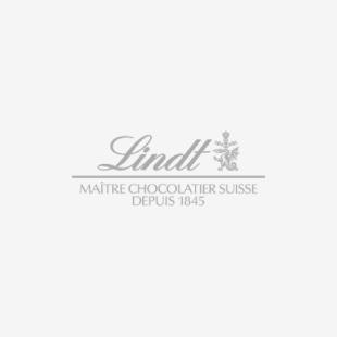 Lindt HELLO szív formájú tejcsokoládé pralinék szív alakú fémdobozban 45g