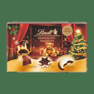 Lindt Karácsonyi Pralinéválogatás 137g