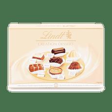 Creation töltött tej-, ét- és fehér csokoládé pralinékból álló válogatás 170g