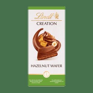 Creation mandulás mogyorós krémmel és grillázzsal töltött tejcsokoládé 150g