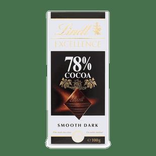 EXCELLENCE 78% kakaótartalmú étcsokoládé 100g