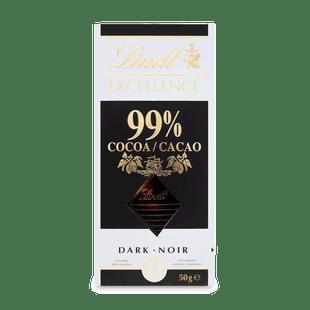 EXCELLENCE 99% kakaótartalmú étcsokoládé 50g