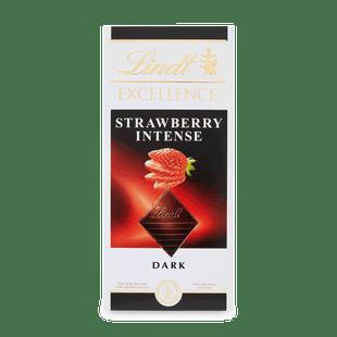 EXCELLENCE étcsokoládé eperrel 100g