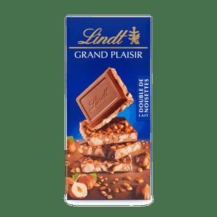 Lindt Grand Plaisir tejcsokoládé mogyoróval és karamellizált mogyoróval 150g