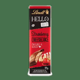 Lindt HELLO epres-sajttortás tejcsokoládé 100g