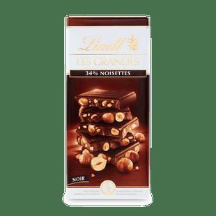 Lindt Les Grandes étcsokoládé mogyoróval 150g