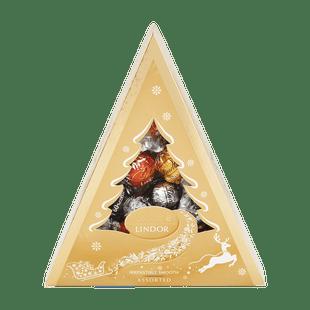 LINDOR Karácsonyfa Csokoládé Válogatás 125g