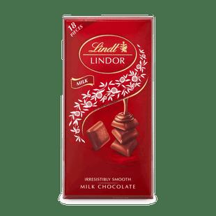 Lindt LINDOR Singles tejcsokoládé kockák lágyan olvadó töltelékkel 100g