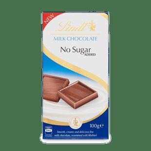 Lindt tejcsokoládé hozzáadott cukor nélkül 100g