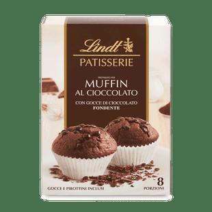 Lindt csokoládés muffinpor étcsokoládé darabokkal 210g