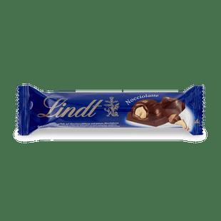 Lindt Nocciolatte töltött tejcsokoládé mogyorós töltelékkel és egész mogyoróval 40g