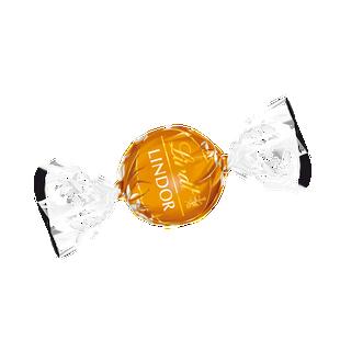 LINDOR tejcsokoládé lágyan olvadó karamellás töltelékkel