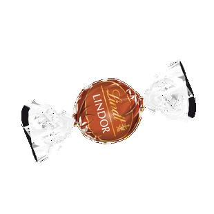 LINDOR tejcsokoládé praliné mogyoródarabokkal és lágyan olvadó töltelékkel