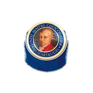 Lindt tejcsokoládés Mozart golyó