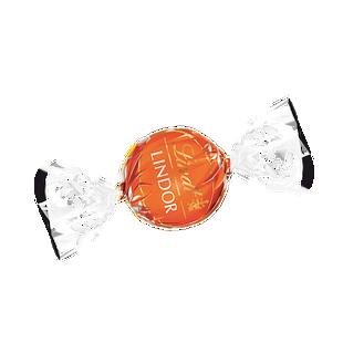 LINDOR tejcsokoládé praliné lágyan olvadó narancsos töltelékkel