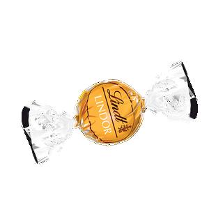 LINDOR fehércsokoládé praliné lágyan olvadó töltelékkel